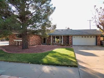 El Paso Single Family Home For Sale: 3201 Suffolk Road