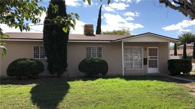 El Paso Single Family Home For Sale: 5800 Delta Drive