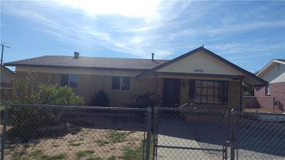 El Paso Single Family Home For Sale: 4924 Ajax Court