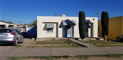 El Paso Single Family Home For Sale: 2710 Byron