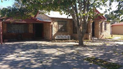 El Paso TX Single Family Home For Sale: $144,900