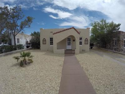 Single Family Home For Sale: 4312 Cambridge Ave.