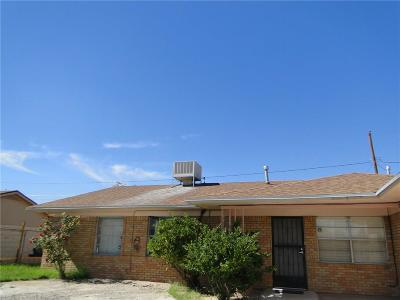 El Paso Single Family Home For Sale: 3309 Donegal Road