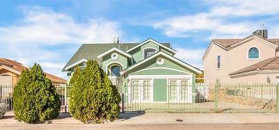 El Paso Single Family Home For Sale: 12693 Tierra Sonora Drive