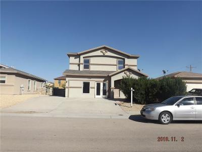 El Paso Single Family Home For Sale: 3204 Derby Point Drive