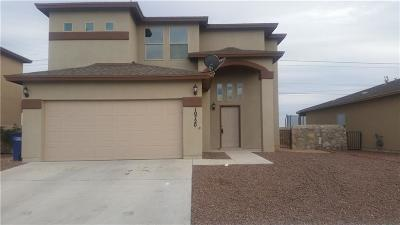 El Paso Single Family Home For Sale: 10720 Blue Sage Circle