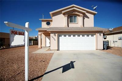 El Paso Single Family Home For Sale: 10745 Silvercloud Drive