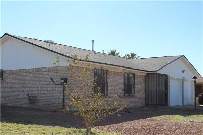 El Paso Single Family Home For Sale: 5140 Cockrell Lane