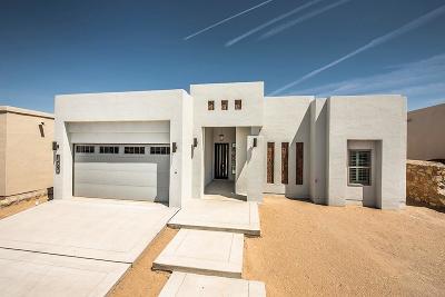 El Paso Single Family Home For Sale: 2724 Tierra Murcia