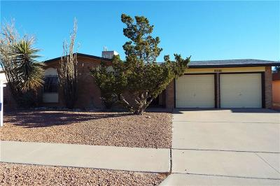 El Paso Single Family Home For Sale: 8520 Lakehurst Road