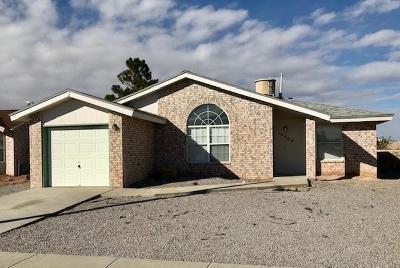 Horizon City Single Family Home For Sale: 14509 Cabana Drive