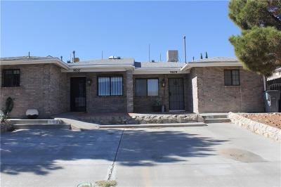 El Paso Multi Family Home For Sale: 9057 Eclipse Street #9057/905