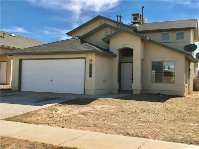 El Paso Single Family Home For Sale: 14108 Tierra Halcon Drive