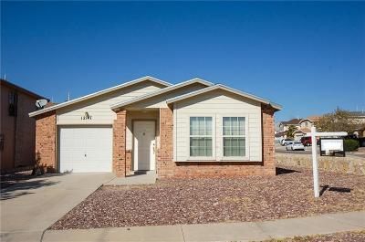 El Paso Single Family Home For Sale: 12147 Saint Francis Court