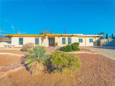 El Paso Single Family Home For Sale: 93 Northwind Drive