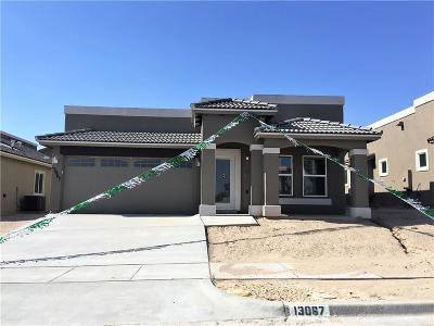 Horizon City Single Family Home For Sale: 13067 Wellington
