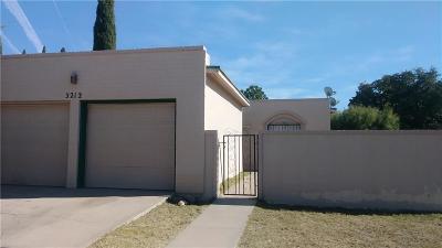 El Paso Single Family Home For Sale: 3212 Isla Cocoa Lane