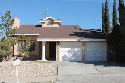 El Paso Single Family Home For Sale: 7337 Royal Arms Drive
