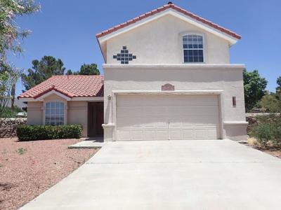 El Paso Single Family Home For Sale: 7106 Desert Jewel