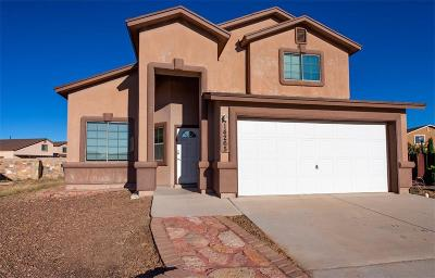 El Paso Single Family Home For Sale: 14265 Pine Point Court