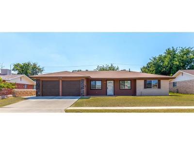 Single Family Home For Sale: 2709 Fierro Drive
