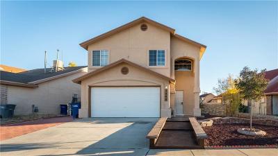 El Paso TX Single Family Home For Sale: $119,990