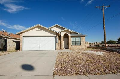 El Paso TX Single Family Home For Sale: $114,500