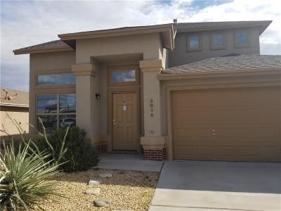 El Paso TX Single Family Home For Sale: $130,000