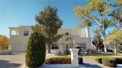 El Paso Single Family Home For Sale: 871 Via Alegre Lane