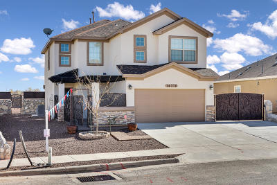 Horizon City Single Family Home For Sale: 14376 Desert Sunset Drive