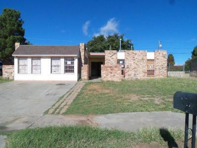 El Paso Single Family Home For Sale: 2129 Anise Drive