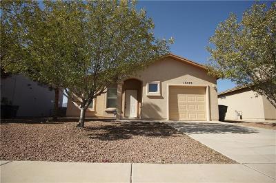El Paso TX Single Family Home For Sale: $117,999
