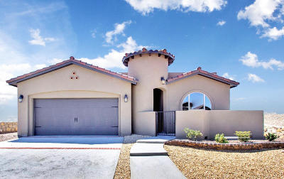 El Paso Single Family Home For Sale: 7467 Wooden Nickel Drive