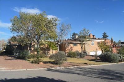 El Paso Single Family Home For Sale: 3100 Titanic Avenue