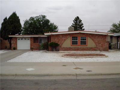 El Paso Single Family Home For Sale: 10339 Bayo Avenue