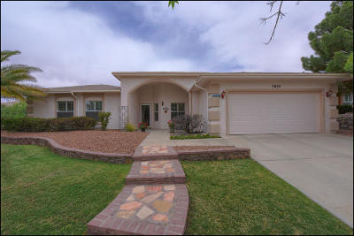 El Paso Single Family Home For Sale: 7025 Desert Canyon Drive