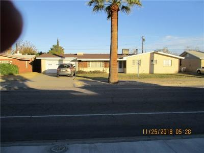 El Paso Single Family Home For Sale: 2608 Fir Street