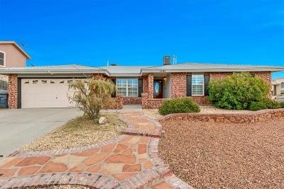 El Paso Single Family Home For Sale: 1400 Maple Ridge
