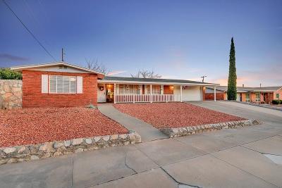 El Paso Single Family Home For Sale: 604 Castile Avenue