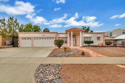 Vista Hills Single Family Home For Sale: 1844 Paseo Real Circle