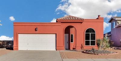 El Paso TX Single Family Home For Sale: $139,500