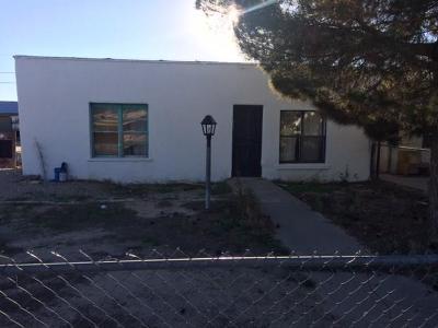 Fabens Single Family Home For Sale: 128 NE H Avenue NE