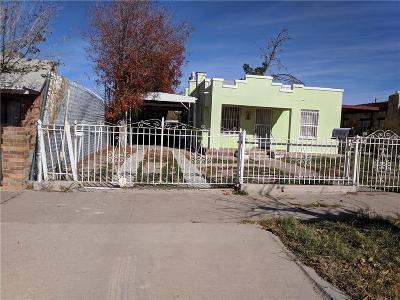 El Paso Single Family Home For Sale: 3907 Chester Avenue