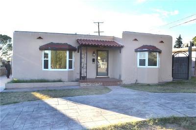 Single Family Home For Sale: 827 Pueblo Street