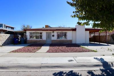 El Paso Single Family Home For Sale: 1216 Idlewilde Drive