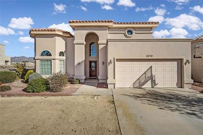 El Paso Single Family Home For Sale: 6250 Viale Lungo