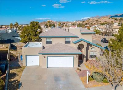 El Paso Single Family Home For Sale: 6801 Echo Cliffs Drive
