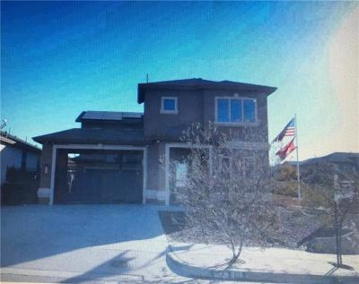 Horizon City Single Family Home For Sale: 388 Claiborne Street