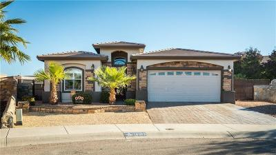 El Paso Single Family Home For Sale: 14065 Sandy Point Lane