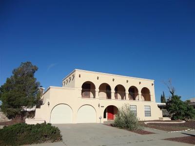 El Paso Single Family Home For Sale: 601 La Chapa Avenue